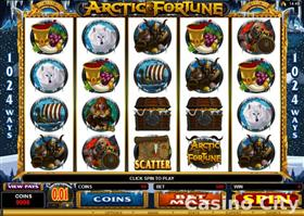 Artic Fortune video slot