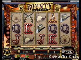 Bounty Hunters video slot