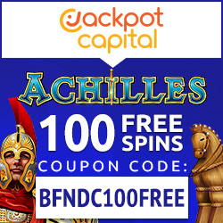 Jackpot Capital, Free no deposit coupon bonuses