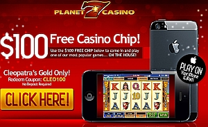 planet7 rtg mobile casino 100 free