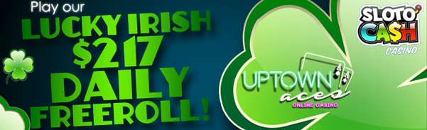 Lucky Irish 217 Daily Freeroll