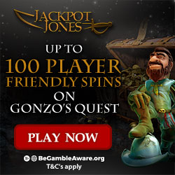 JACKPOT JONES casino get free spins